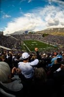 BYU FOOTBALL FISHEYE by clinekurt78