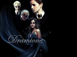 Dramione - wallpaper by Gwiazdkax3