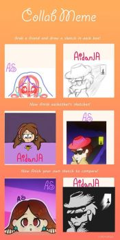 Collab #1 Mabel and Dipper (with Anna/OtakuTacooo) by AidanJA