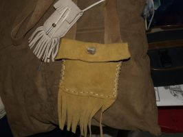 Prarie pouch and Medicine bag by moonknight420