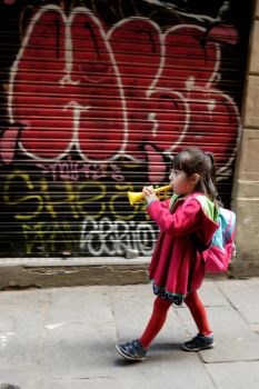 Postcard from Barcelona 29 by JACAC