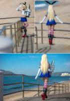 Near to ocean - Shimakaze Cosplay by MaySakaali