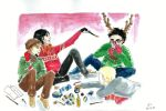 Potter The Red Nosed Reindeer by blueocean01