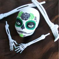 Monster High Cam  Skeleton Day of the Dead Remake by AdeCiroDesigns