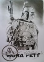 Boba Fett by Quadcabbage