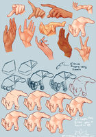 Hand Practice by GlassLotuses