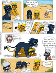 SasuNaru Lion comic YAY by Clawshawt