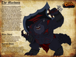 Battlechasers Creature Contest Entry - The Mordoss by NapalmKrillos