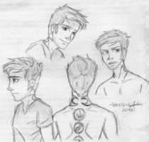 Some Four sketches by lauu7