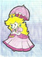 Paper peach by darknes2012