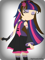 EqG Twilight Sparkle Vocaloid Style by NightmareLunaFan