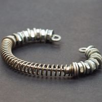 Industrial Jewelry Hardware Bracelet by Tanith-Rohe