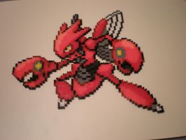 Scizor by 8-BitBeadsStudio