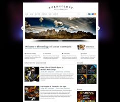 Themeology Portfolio and Blog by lickmystyle