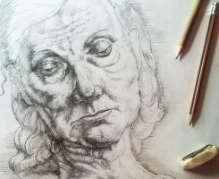 Work Old Woman Detail1 by Vlados7