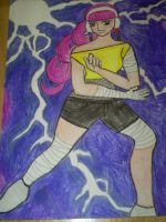 100 Theme Challenge #12- Lightning by Lady-Yuukie