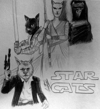 Star Cats by pilouuuu