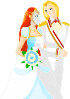 Wedding Bloom and Sky by Beatrice-Dragon-Team