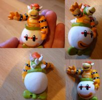 Bowser Figurine by Jelle-C