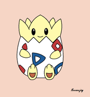 Togepi by neeneejoy