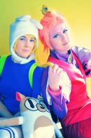 Adventure Time: Fionna and Gumball by enchanted-waffle