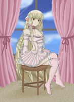 Chobits - Chii -In Progress- by insomniacvampire