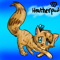 Heatherpaw by Kitzophrenic