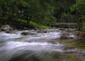 Rushing Stream 111101 by StockProject1