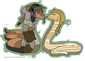 Gay Snakes by ghosty-Cat