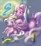 Mother Daughter Time by TurtieDroppings
