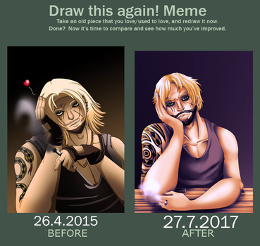 Before and after meme by WinterGlace