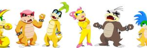 Koopalings Group Picture by Aura-Cat