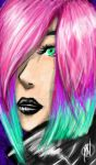 Neon Loves Black by MaliciousNature