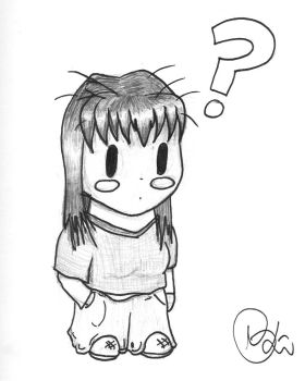 Teh 'Vee' Chibi-CoNfUsEd? X.o by Veester