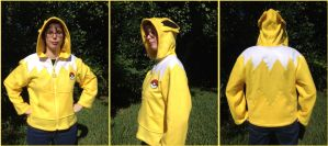 Jolteon Cosplay Jacket Hoodie Pokemon Eeveelution by Monostache