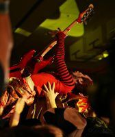 Crowd Surfing PeelanderRed by deviouselite