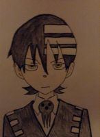 Soul Eater Death the kid by nightshade900