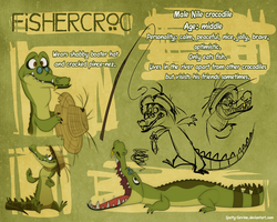 Fishercroc ref by Frozenspots