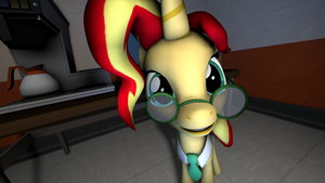 [SFM MLP] What A Cutie lmao by AppleCat910