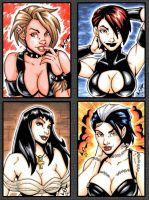 Sketch Cards - TITS commission by gb2k