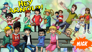 Hey Arnold by AmukaUroy