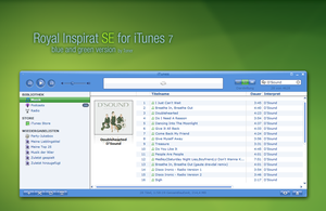 Royal Inspirat SE for iTunes 7 by MrToNeR