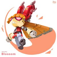 Robotic Blossom by zgul-osr1113
