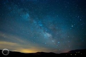 Milky Way over Truckee by sintar