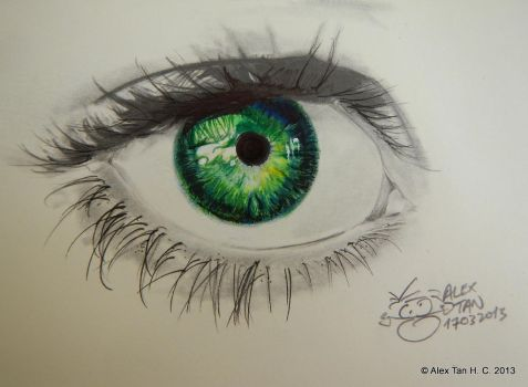 Green Eye by aleksitanninen