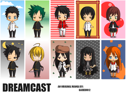 DreamCast Characters (Main) by gaiden012