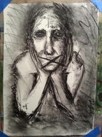 Charcoal Sketch 1 by Troy-Stith