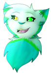 [Commission] Sophie53086 Headshot by Siiilverfeather