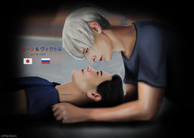 [Yuri x Victor] Born to make history.. by xXMarilliaXx