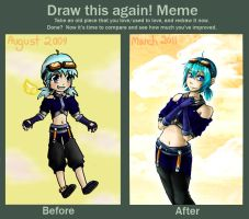 Draw This Again Meme by CgSuikane